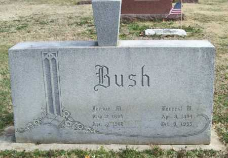 BUSH, JENNIE M. - Benton County, Arkansas | JENNIE M. BUSH - Arkansas Gravestone Photos