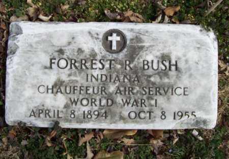 BUSH (VETERAN WWI), FORREST R - Benton County, Arkansas | FORREST R BUSH (VETERAN WWI) - Arkansas Gravestone Photos