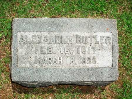 BUTLER, ALEXANDER - Benton County, Arkansas | ALEXANDER BUTLER - Arkansas Gravestone Photos