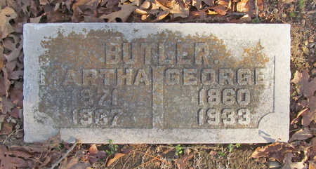 BUTLER, MARTHA - Benton County, Arkansas   MARTHA BUTLER - Arkansas Gravestone Photos