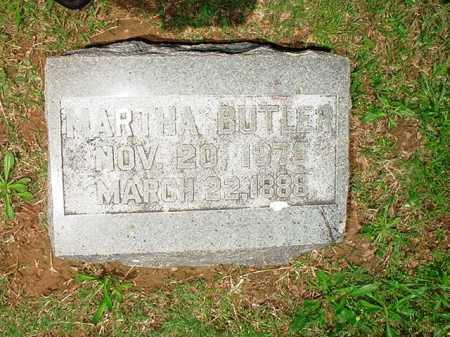 BUTLER, MARTHA - Benton County, Arkansas | MARTHA BUTLER - Arkansas Gravestone Photos