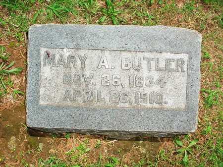 BUTLER, MARY A. - Benton County, Arkansas | MARY A. BUTLER - Arkansas Gravestone Photos