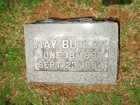 BUTLER, MAY - Benton County, Arkansas | MAY BUTLER - Arkansas Gravestone Photos