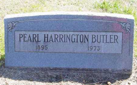 HARRINGTON BUTLER, PEARL - Benton County, Arkansas | PEARL HARRINGTON BUTLER - Arkansas Gravestone Photos