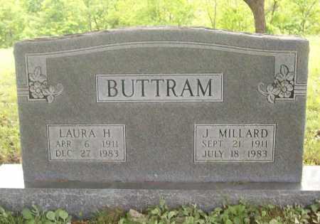 BUTTRAM, LAURA H. - Benton County, Arkansas | LAURA H. BUTTRAM - Arkansas Gravestone Photos