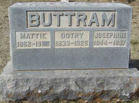 "BUTTRAM (VETERAN CSA), WILLIAM DOTRY ""UNCLE DOT"" - Benton County, Arkansas 