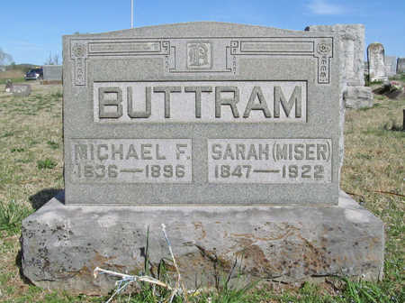 BUTTRAM, MICHAEL F - Benton County, Arkansas | MICHAEL F BUTTRAM - Arkansas Gravestone Photos