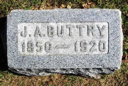 BUTTRY, J. A. - Benton County, Arkansas | J. A. BUTTRY - Arkansas Gravestone Photos