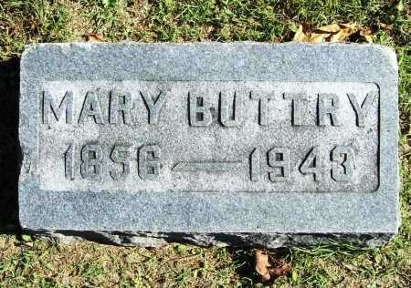 BUTTRY, MARY - Benton County, Arkansas | MARY BUTTRY - Arkansas Gravestone Photos