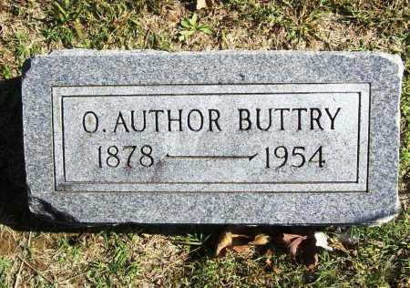 BUTTRY, O. AUTHOR - Benton County, Arkansas | O. AUTHOR BUTTRY - Arkansas Gravestone Photos