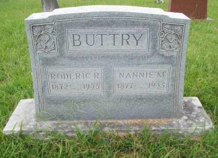 BUTTRY, NANNIE M. - Benton County, Arkansas | NANNIE M. BUTTRY - Arkansas Gravestone Photos
