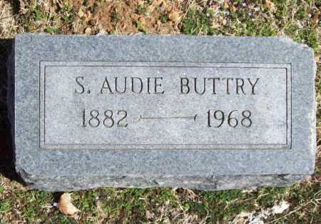 BUTTRY, S. AUDIE - Benton County, Arkansas | S. AUDIE BUTTRY - Arkansas Gravestone Photos