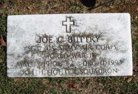 BUTTRY (VETERAN WWII), JOE C - Benton County, Arkansas | JOE C BUTTRY (VETERAN WWII) - Arkansas Gravestone Photos
