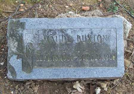 BUXTON, MAUDE - Benton County, Arkansas | MAUDE BUXTON - Arkansas Gravestone Photos