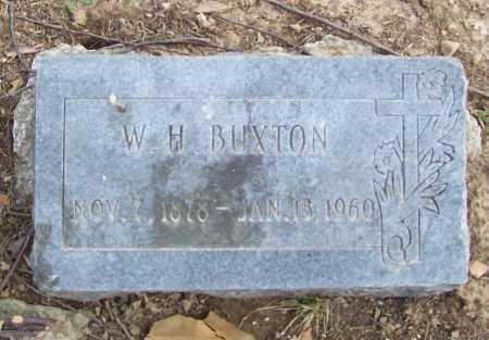 BUXTON, W. H. - Benton County, Arkansas | W. H. BUXTON - Arkansas Gravestone Photos
