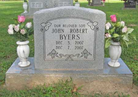BYERS, JOHN ROBERT - Benton County, Arkansas | JOHN ROBERT BYERS - Arkansas Gravestone Photos