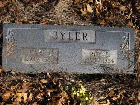 BYLER, SAMUEL ROY - Benton County, Arkansas | SAMUEL ROY BYLER - Arkansas Gravestone Photos