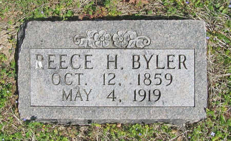 BYLER, REECE H - Benton County, Arkansas | REECE H BYLER - Arkansas Gravestone Photos