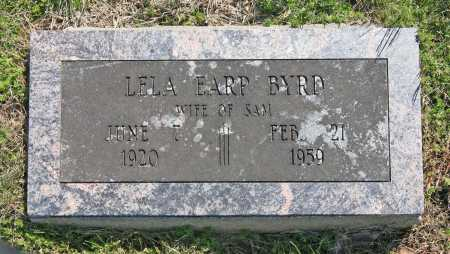 EARP BYRD, LELA - Benton County, Arkansas | LELA EARP BYRD - Arkansas Gravestone Photos