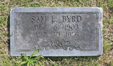 BYRD, SAM L. - Benton County, Arkansas | SAM L. BYRD - Arkansas Gravestone Photos