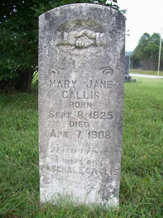 PATTERSON CALLIS, MARY JANE - Benton County, Arkansas | MARY JANE PATTERSON CALLIS - Arkansas Gravestone Photos