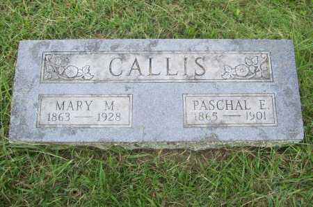 CALLIS, PASCHAL E. JR. - Benton County, Arkansas | PASCHAL E. JR. CALLIS - Arkansas Gravestone Photos