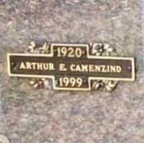 CAMENZIND, ARTHUR E. - Benton County, Arkansas | ARTHUR E. CAMENZIND - Arkansas Gravestone Photos