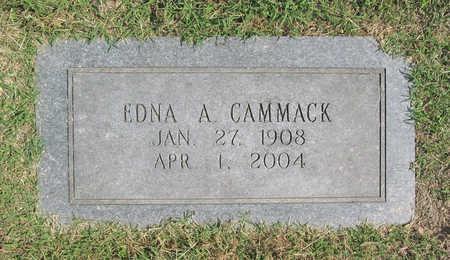 CAMMACK, EDNA A. - Benton County, Arkansas | EDNA A. CAMMACK - Arkansas Gravestone Photos
