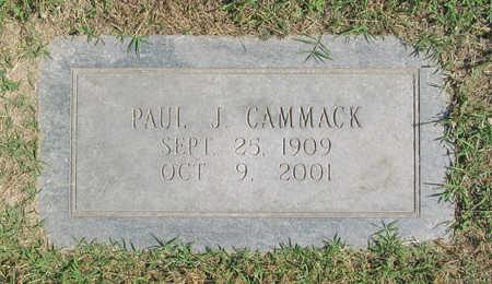CAMMACK, PAUL J - Benton County, Arkansas | PAUL J CAMMACK - Arkansas Gravestone Photos