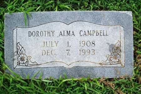 CAMPBELL, DOROTHY ALMA - Benton County, Arkansas | DOROTHY ALMA CAMPBELL - Arkansas Gravestone Photos