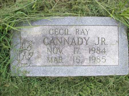 CANNADY, CECIL RAY JR - Benton County, Arkansas | CECIL RAY JR CANNADY - Arkansas Gravestone Photos