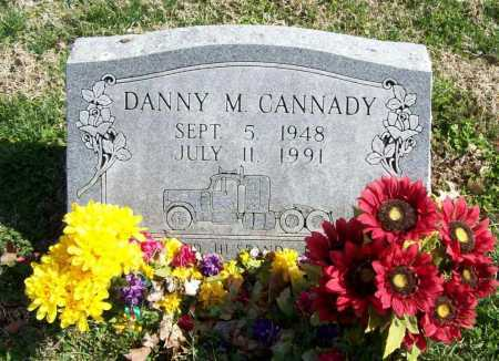 CANNADY, DANNY MONROE - Benton County, Arkansas | DANNY MONROE CANNADY - Arkansas Gravestone Photos