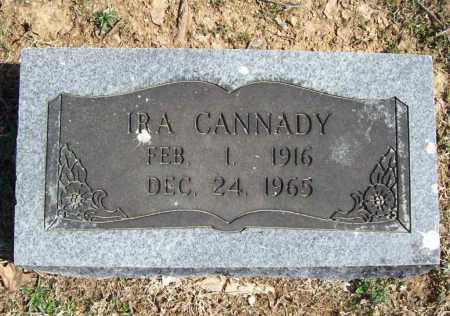 CANNADY, IRA - Benton County, Arkansas | IRA CANNADY - Arkansas Gravestone Photos