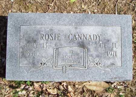CANNADY, ROSIE - Benton County, Arkansas | ROSIE CANNADY - Arkansas Gravestone Photos