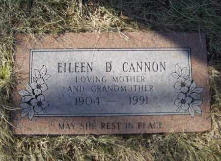 CANNON, EILEEN D. - Benton County, Arkansas | EILEEN D. CANNON - Arkansas Gravestone Photos