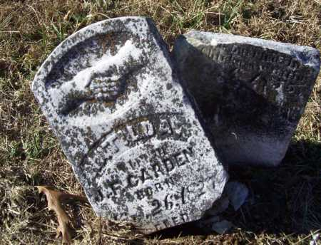 CARDEN, MATILDA - Benton County, Arkansas | MATILDA CARDEN - Arkansas Gravestone Photos