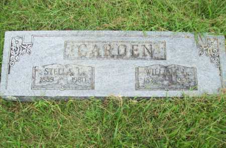 CARDEN, WILLIAM L. - Benton County, Arkansas | WILLIAM L. CARDEN - Arkansas Gravestone Photos
