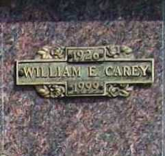 CAREY, WILLIAM E. - Benton County, Arkansas | WILLIAM E. CAREY - Arkansas Gravestone Photos