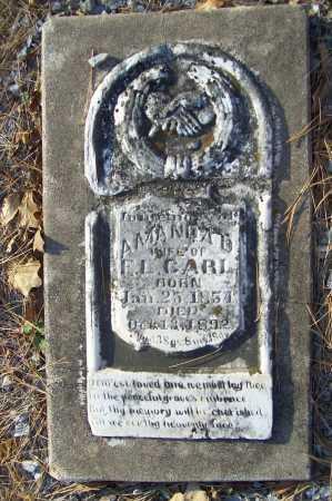 CARL, AMANDA D. - Benton County, Arkansas | AMANDA D. CARL - Arkansas Gravestone Photos