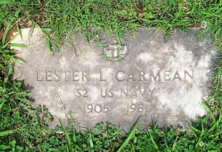 CARMEAN (VETERAN), LESTER L. - Benton County, Arkansas | LESTER L. CARMEAN (VETERAN) - Arkansas Gravestone Photos