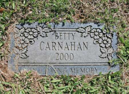 CARNAHAN, BETTY - Benton County, Arkansas | BETTY CARNAHAN - Arkansas Gravestone Photos