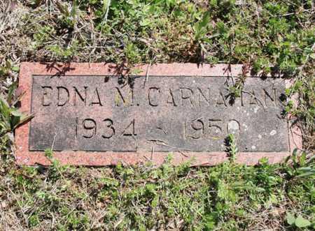 CARNAHAN, EDNA M. - Benton County, Arkansas | EDNA M. CARNAHAN - Arkansas Gravestone Photos