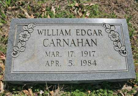 CARNAHAN, WILLIAM EDGAR - Benton County, Arkansas | WILLIAM EDGAR CARNAHAN - Arkansas Gravestone Photos