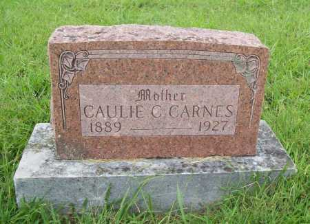 CARNES, CAULIE C. - Benton County, Arkansas | CAULIE C. CARNES - Arkansas Gravestone Photos
