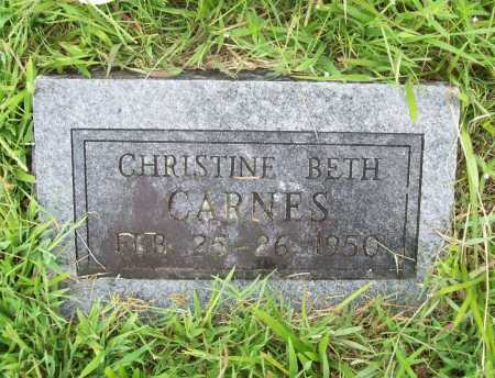 CARNES, CHRISTINE BETH - Benton County, Arkansas | CHRISTINE BETH CARNES - Arkansas Gravestone Photos