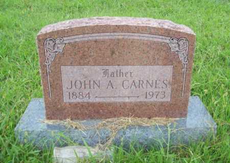 CARNES, JOHN A. - Benton County, Arkansas | JOHN A. CARNES - Arkansas Gravestone Photos