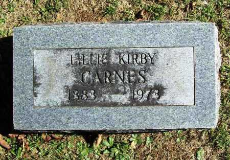 CARNES, LILLIE - Benton County, Arkansas | LILLIE CARNES - Arkansas Gravestone Photos