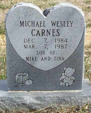 CARNES, MICHAEL WESLEY - Benton County, Arkansas | MICHAEL WESLEY CARNES - Arkansas Gravestone Photos