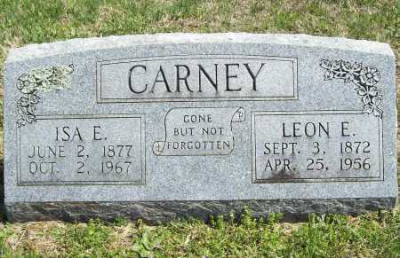 CARNEY, ISA E. - Benton County, Arkansas | ISA E. CARNEY - Arkansas Gravestone Photos