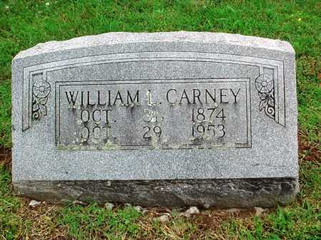 CARNEY, WILLIAM L. - Benton County, Arkansas | WILLIAM L. CARNEY - Arkansas Gravestone Photos